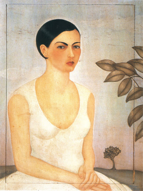 Фрида Кало - Портрет Кристины, моей сестры. 1928