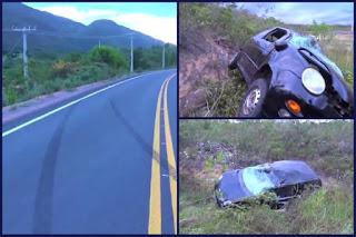 Uma pessoa morre e duas ficam feridas em acidente na Chapada Diamantina