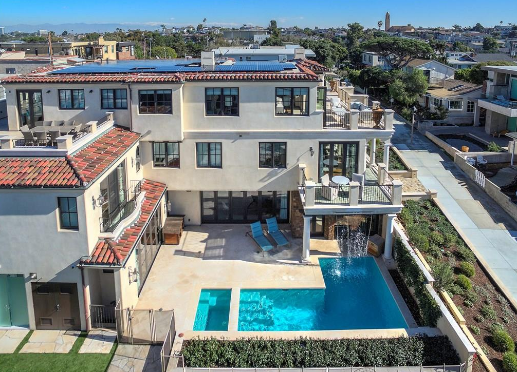 As We Enter The Second Half Of 2017, The Most Expensive Home Currently  Listed For Sale In Manhattan Beach CA Is NOT On The Strand But The 300  Block Of A ...