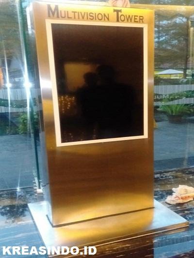 Digital Booth tanpa TV pesanan Bpk Ricky untuk di Office Tower Multivision Jakarta Selatan
