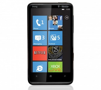 HTC HD7 Windows Phone 7 for T-Mobile officially announced