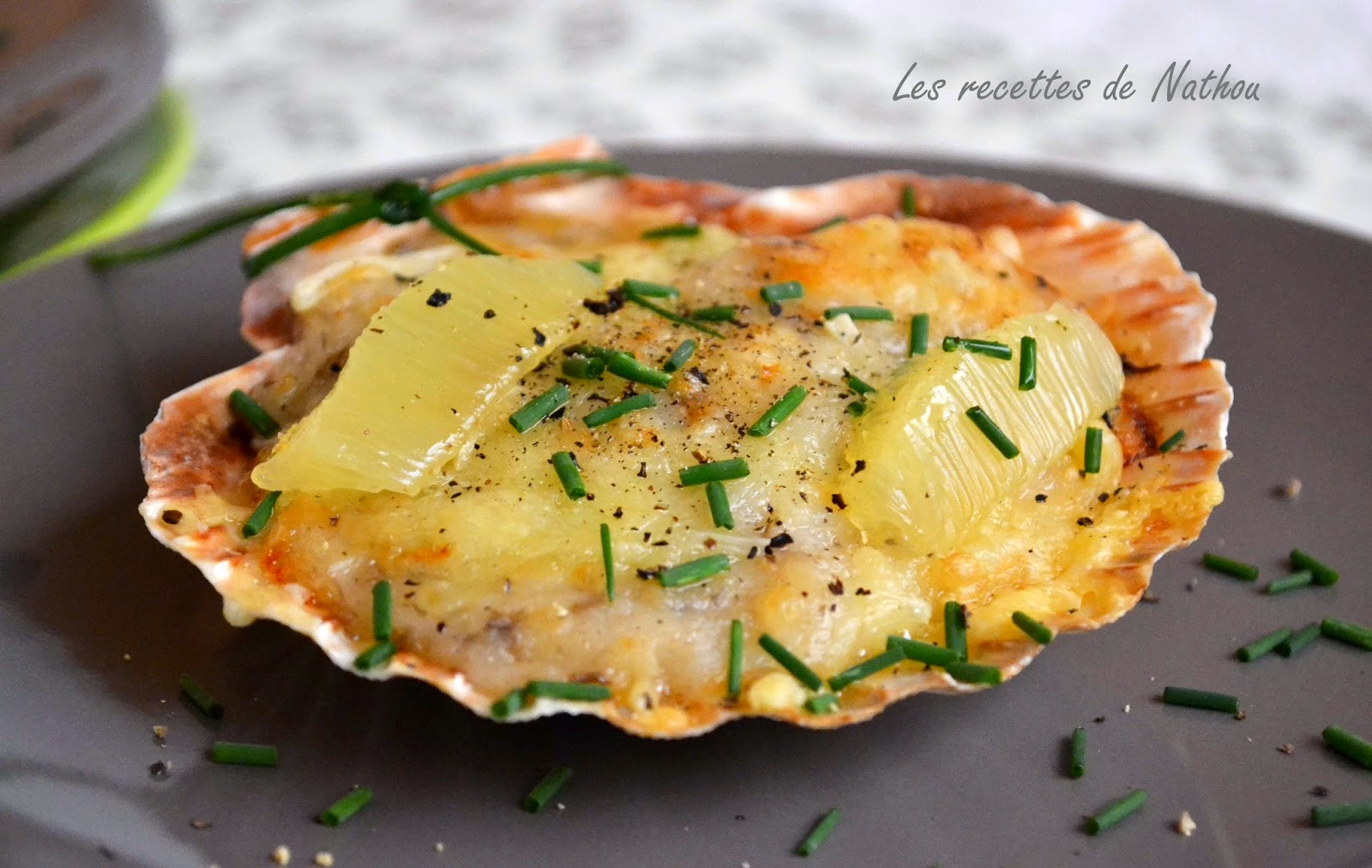 Coquilles St Jacques Gratinees Soto