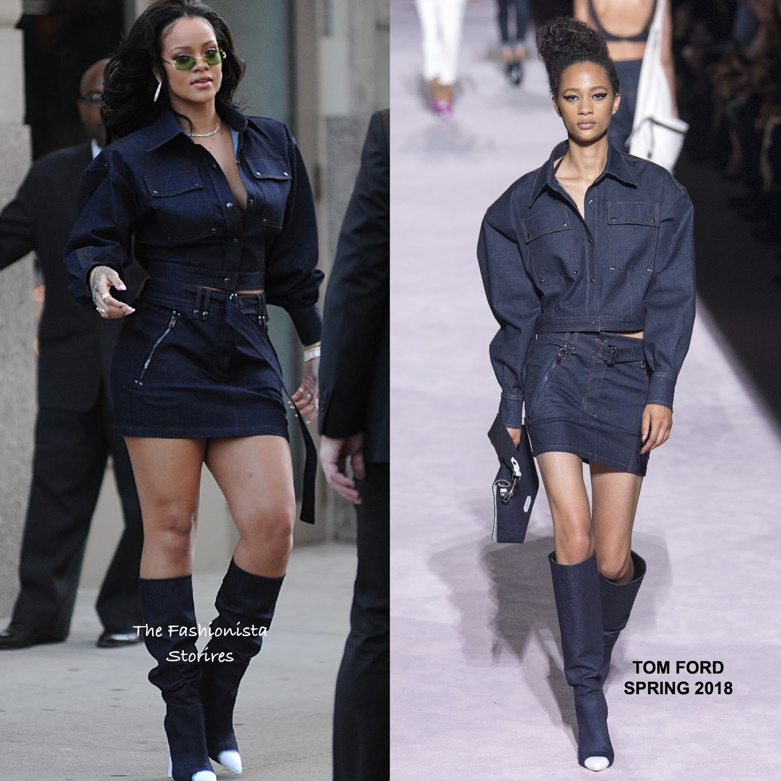 cdc6325c2e6 Rihanna in tom ford out in new york jpg 1600x1600 Tom ford boots rihanna