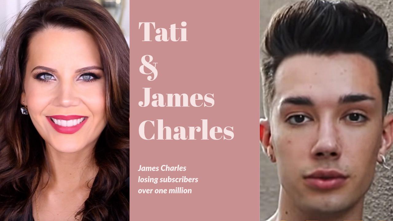 james charles losing subscribers