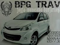 Jadwal Travel BPG Jogja - Wonosobo PP