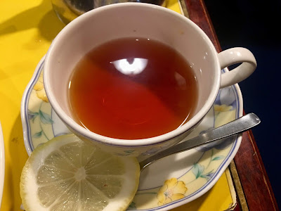 紅茶もある