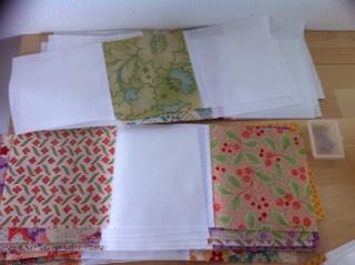 Rijen vierkantjes patchwork