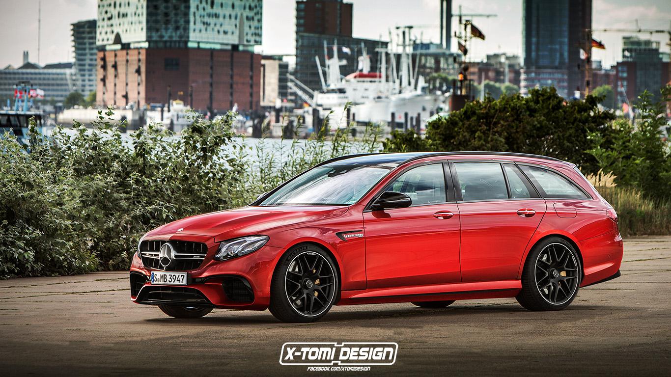 X-Tomi Design: Mercedes-Benz E63 AMG Estate