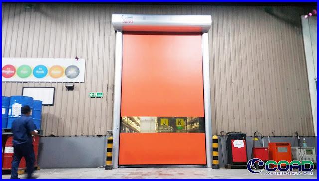 COAD, HIGH SPEED DOOR, ROLL UP DOOR, ROLLING DOOR, RAPID DOOR, KOREA, JAPAN, MALAYSIA, INDONESIA, THAILAND, VIETNAM