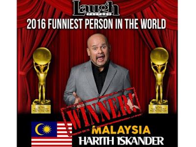 Harith Iskandar Kini Orang Paling Lucu Di Dunia...