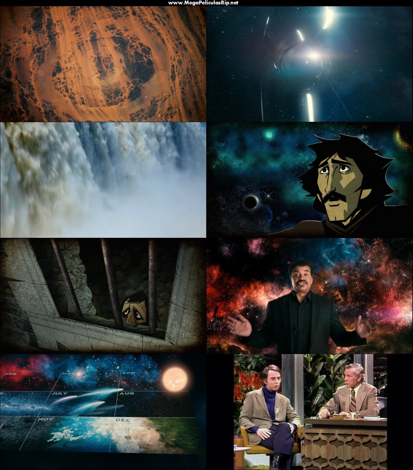 Cosmos A Spacetime Odyssey 1080p Latino