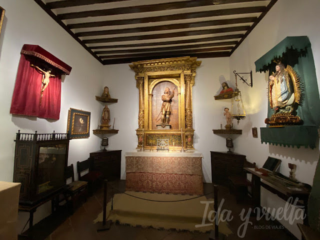 Casa Museo de Lope de Vega capilla