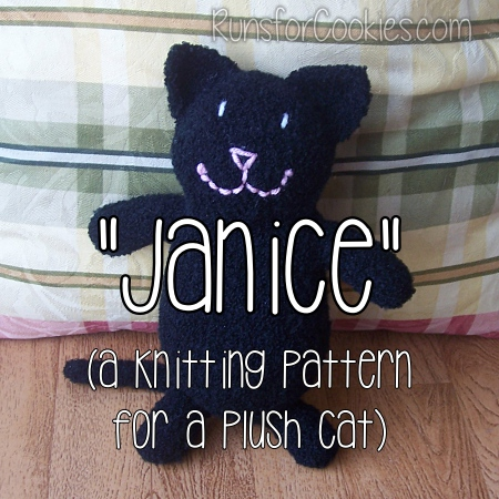 Janice the Plush Cat