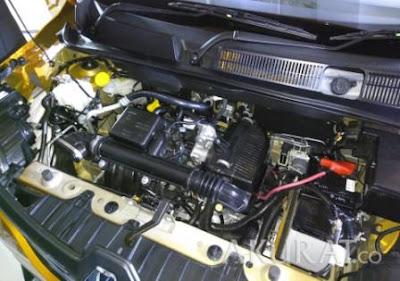 spesifikasi mesin Renault Triber