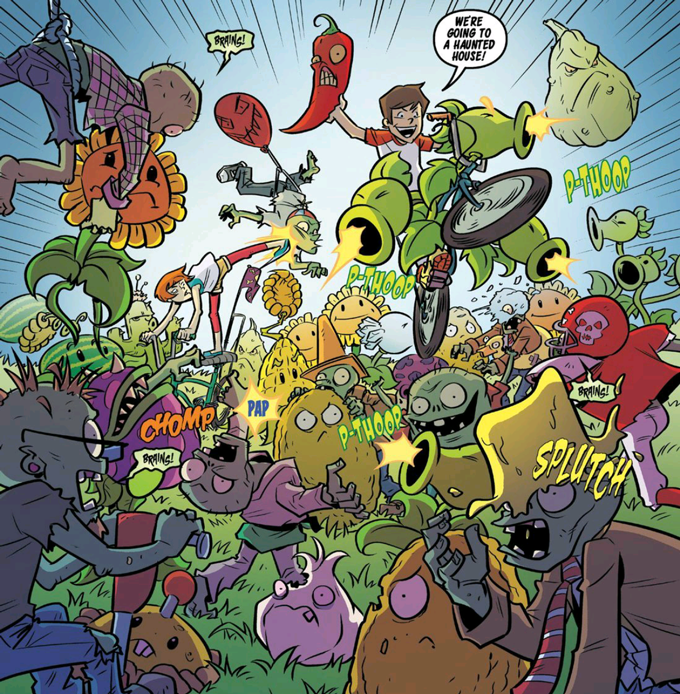 All Ages Or Small Ages 11 Plants Vs Zombies Lawnmageddon