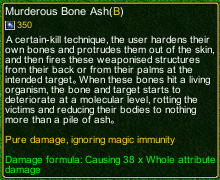 naruto castle defense 6.6 Zatsu Murderous Bone Ash detail