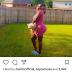 Actress Daniella Okeke And Her Dog Pose For A Snap Shot
