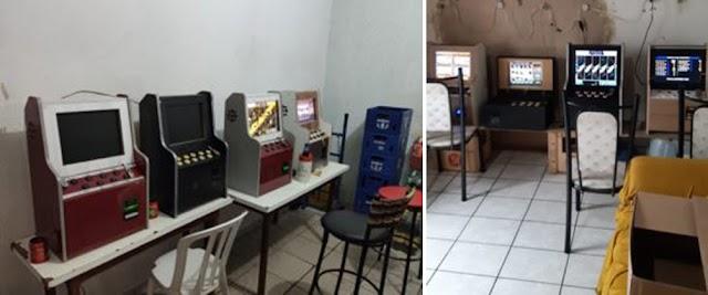 Anápolis: Máquinas Caça-níqueis são apreendidas em estabelecimentos comerciais