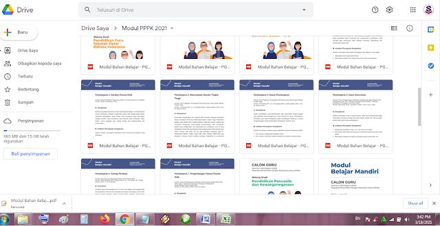 Modul Belajar Mandiri Pedagogi Seleksi Guru PPPK Tahun 2021