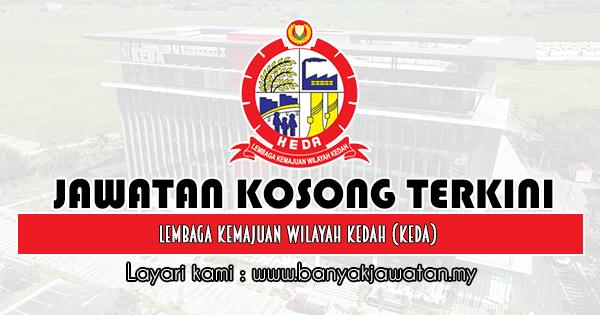 Jawatan Kosong 2019 di Lembaga Kemajuan Wilayah Kedah