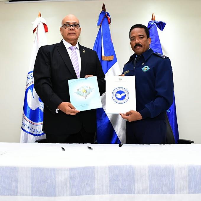 Consejo Nacional de Drogas y El Cesac firman acuerdo de intercambio de información para prevención consumo estupefacientes