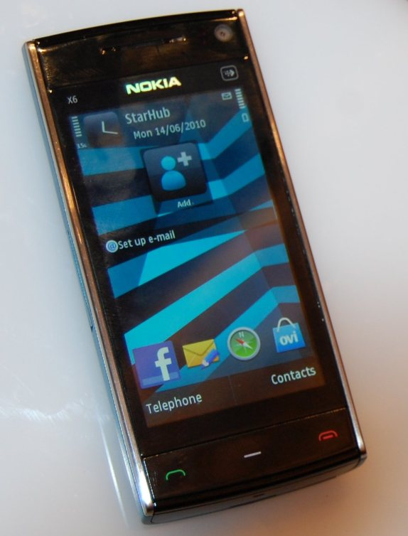 expensive mobilez: nokia x6 16gb