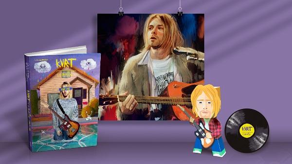 Separe aquela camisa xadrez de flanela e o All Star que o ícone do grunge chegou!