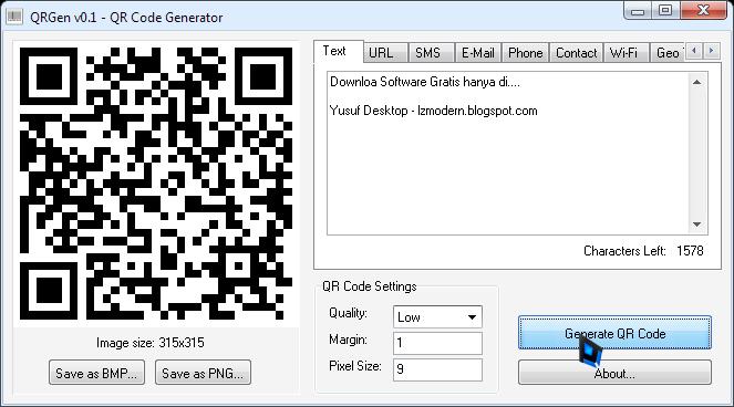 Cara Mudah Membuat QR Code