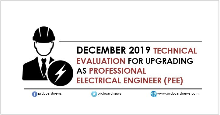 PRC: 115 upgraded as new Professional Electrical Engineers