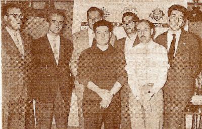 Equipo de ajedrez del Real MAdrid en 1960