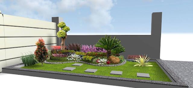 Jasa Tukang taman lamongan Desain Taman minimalis