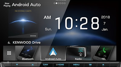 Head unit mobil Kenwood DDX316