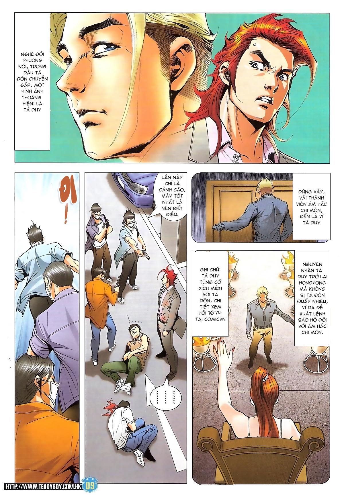 Người Trong Giang Hồ chapter 1826: xuất phát trang 8