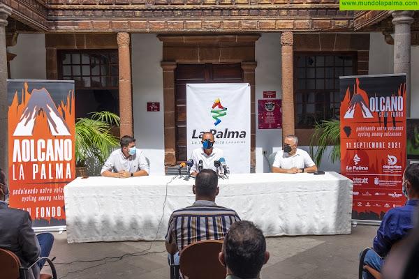 La Palma acogerá en septiembre la primera edición de la marcha ciclista Volcano Gran Fondo