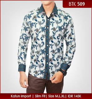 model baju batik pria variasi