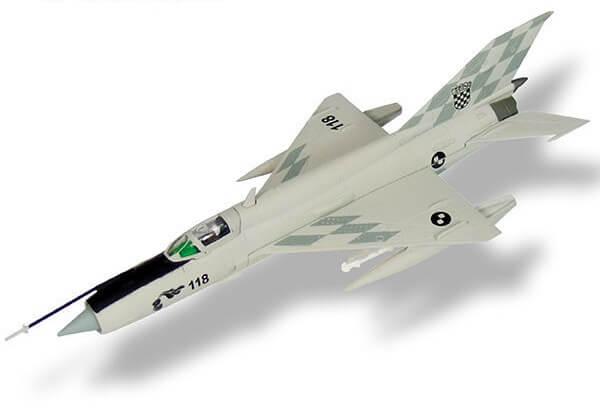 aviones de combate MIG 21 Bis