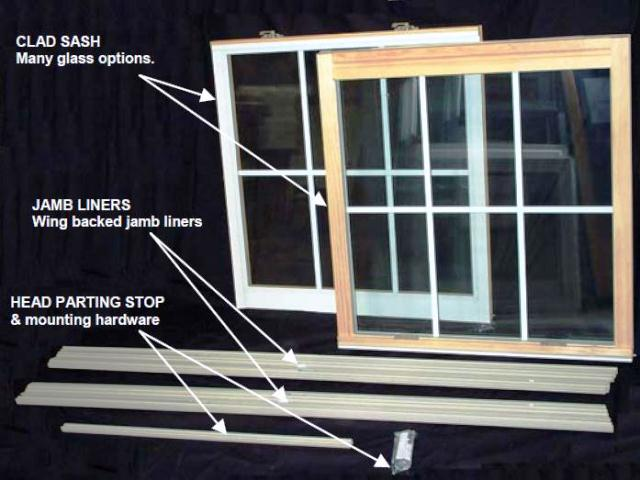 Replacement WINDOW GLASS Kits