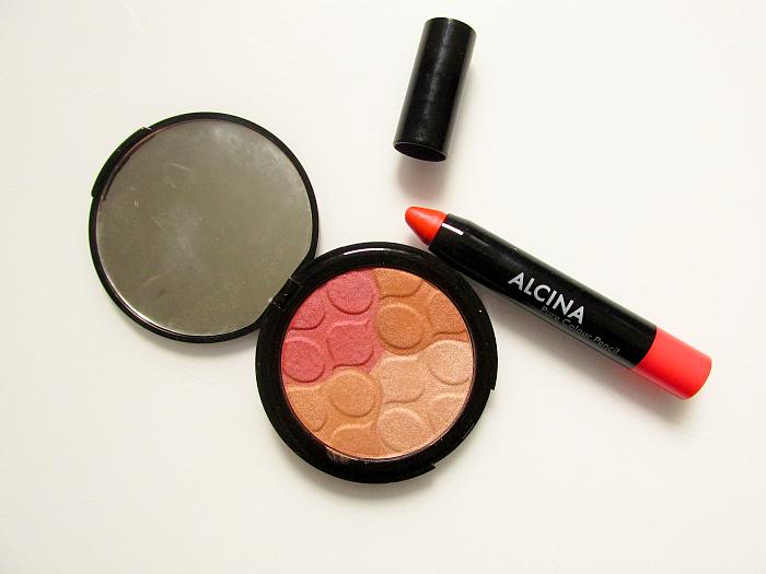 Review: Alcina Multi Benefit Powder & Pure Colour Pencil Melon