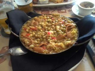 Bar Ocho Esquinas - arroz con calamares