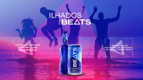 Promoção Ilhados com Beats