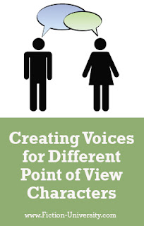 creating voices for different POV characters