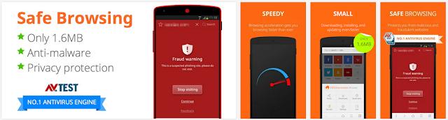 cm browser yang ringan dan aman karena bebas malware