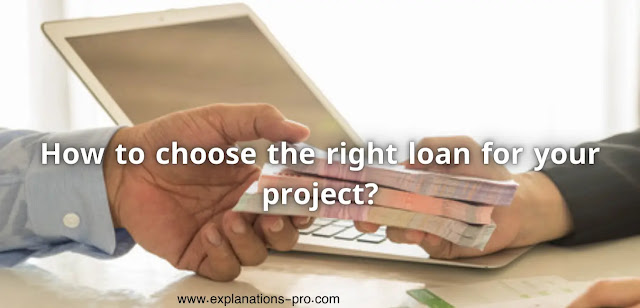 the right loan for your project