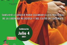 Subsidio Litúrgico Para Celebrar El Día Nacional De La Libertad Religiosa Y Del Culto En Colombia