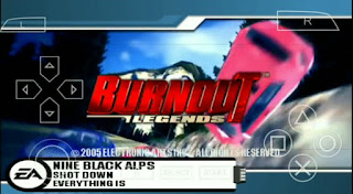 BURNOUT'S LEGENDS CSO PPSSPP FOR ANDROID