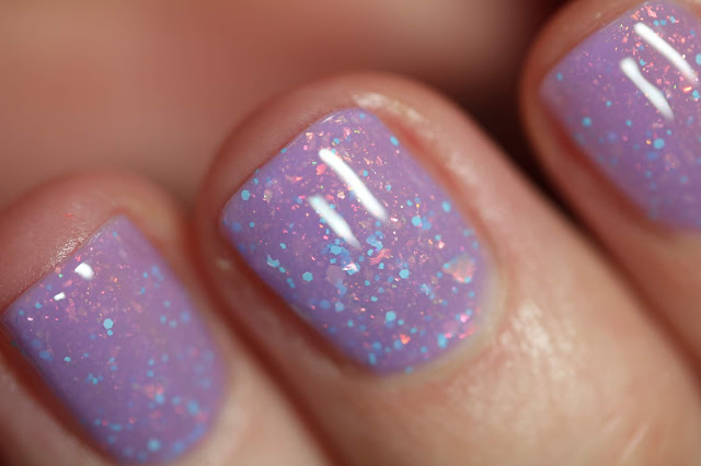 Cadillacquer Milky Way swatch by Streets Ahead Style
