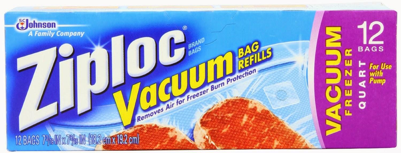 Ziploc Vacuum Seal Bags