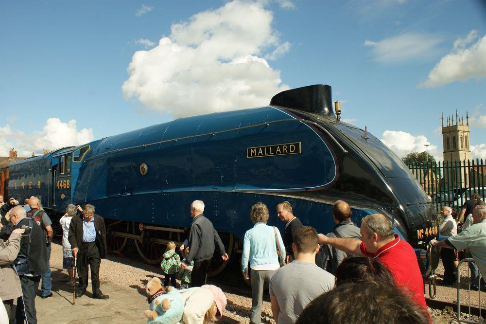 The Mallard. The fastest steam locomotive in the world