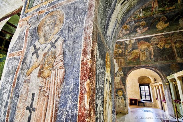 Frescos en la Iglesia de Santa Sofía,, Ohrid - Macedonia por El Guisante Verde Project