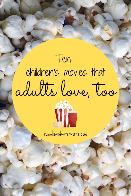 adults laugh at children's scene; dirty disney scenes; family movie night recommendations; movie night with kids